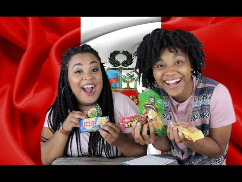AMERICANS TRY SNACKS FROM PERU