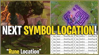 "*NEW* Fortnite: LEAKED NEXT SYMBOLS IN GRASS LOCATION! ""Rune Locations"" 