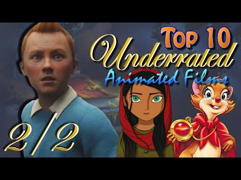 Top 10 Underrated Animated Films 2/2
