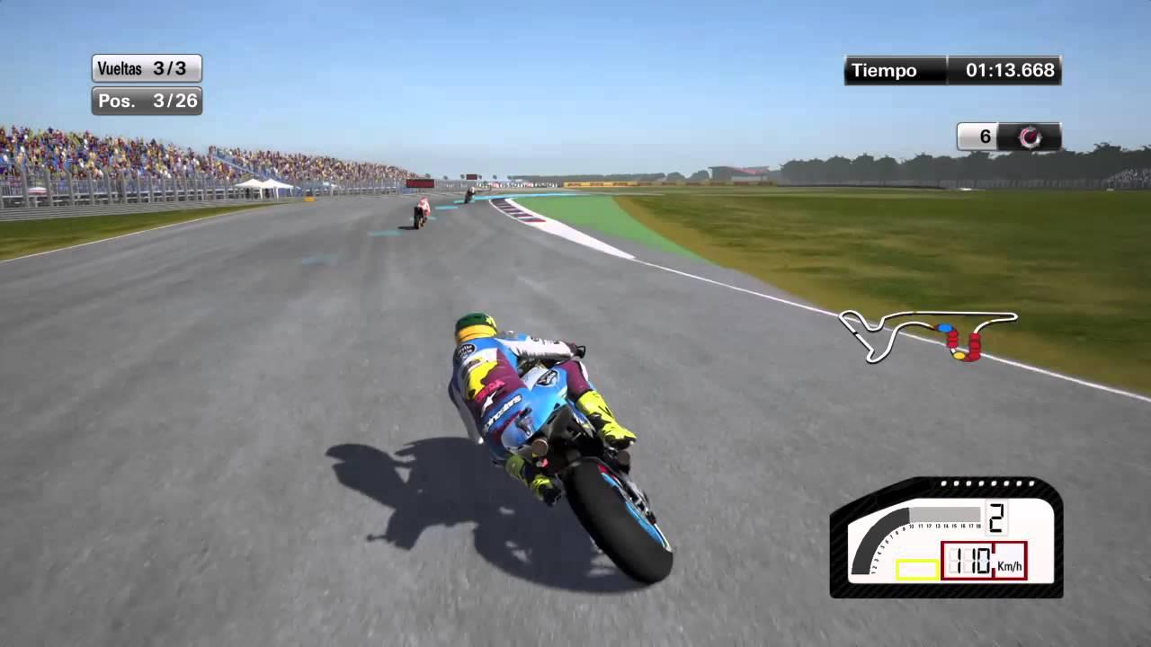 MotoGP 15 PS4 1080p HD - 3ª Carrera: 2016 Gran Premio Motul de la República Argentina MotoGP ...