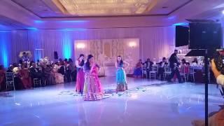 Indian wedding dance