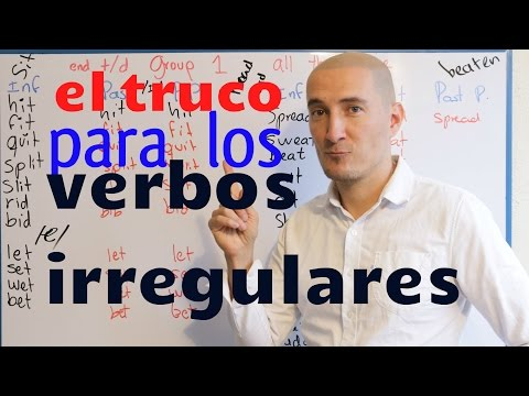 Verbo regular e irregular en ingles