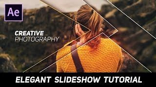 After Effects Tutorial - Elegante und Saubere Diashow Animation