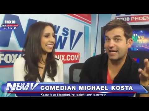 FNN: Comedian Michael Kosta Talks Tennis, Trump and other Topics