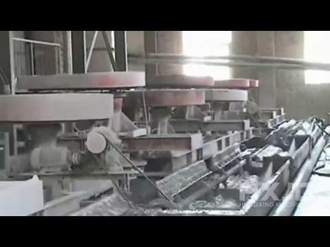 Flotation separation process/Gold flotation production line