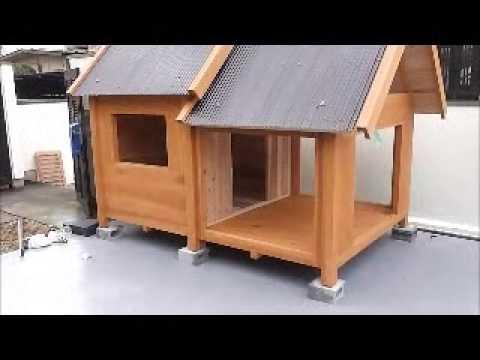 犬 小屋 手作り