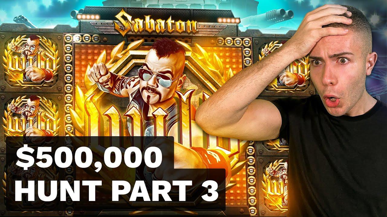 $500000 BONUS HUNT OPENING - Part 3 🎰 59 Slot Bonuses - Release the Kraken & Honey Rush