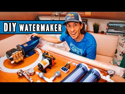 How To Make Water On A Sailboat (and How To Build Your Own Watermaker) // Ryan's Tech Corner #3