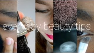 Everyday Beauty Tips | beautybloom212 Thumbnail