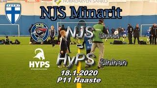 NJS Minarit P11 NJS Sininen vs HyPS Sininen 18.1.2020