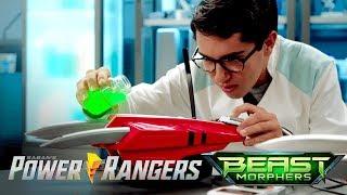 "Power Rangers Beast Morphers - Cheetah Claws   Episode 12 ""real Steel"""