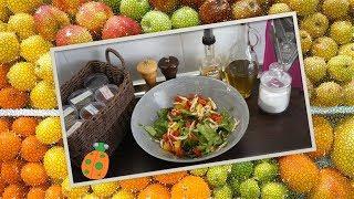 №16. Салат с курицей и апельсином