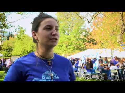 Meet Laura, a Volunteer from DOVE at Seton Hall University