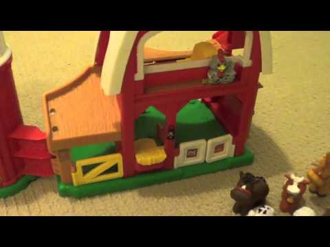 Little People Animal Sounds Farm Barn made by Fisher-Price Toy Review