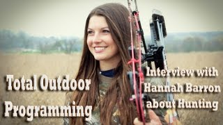 "Video ""Why I Hunt"" Interview with Hannah Barron about girls/women hunting download MP3, 3GP, MP4, WEBM, AVI, FLV Agustus 2018"