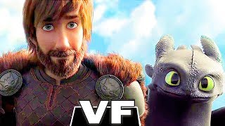 DRAGONS 3 Bande Annonce VF (Animation, 2019) Le Monde Caché