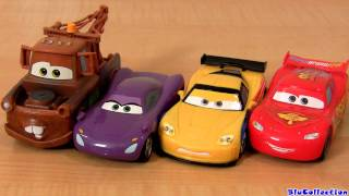 CARS 2 Pullback and Release car toys