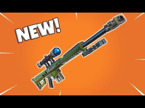 New Heavy Sniper Rifle Sound Test Fortnite Battle Royale Youtube