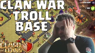 [facecam] CW TROLL BASE! || CLASH OF CLANS || Let's Play CoC [Deutsch/German Android iOS PC HD]
