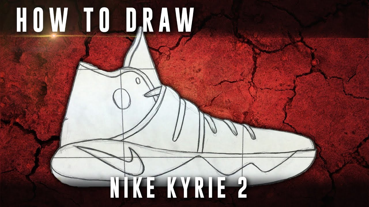 How To Draw: Nike Kyrie 2 - YouTube