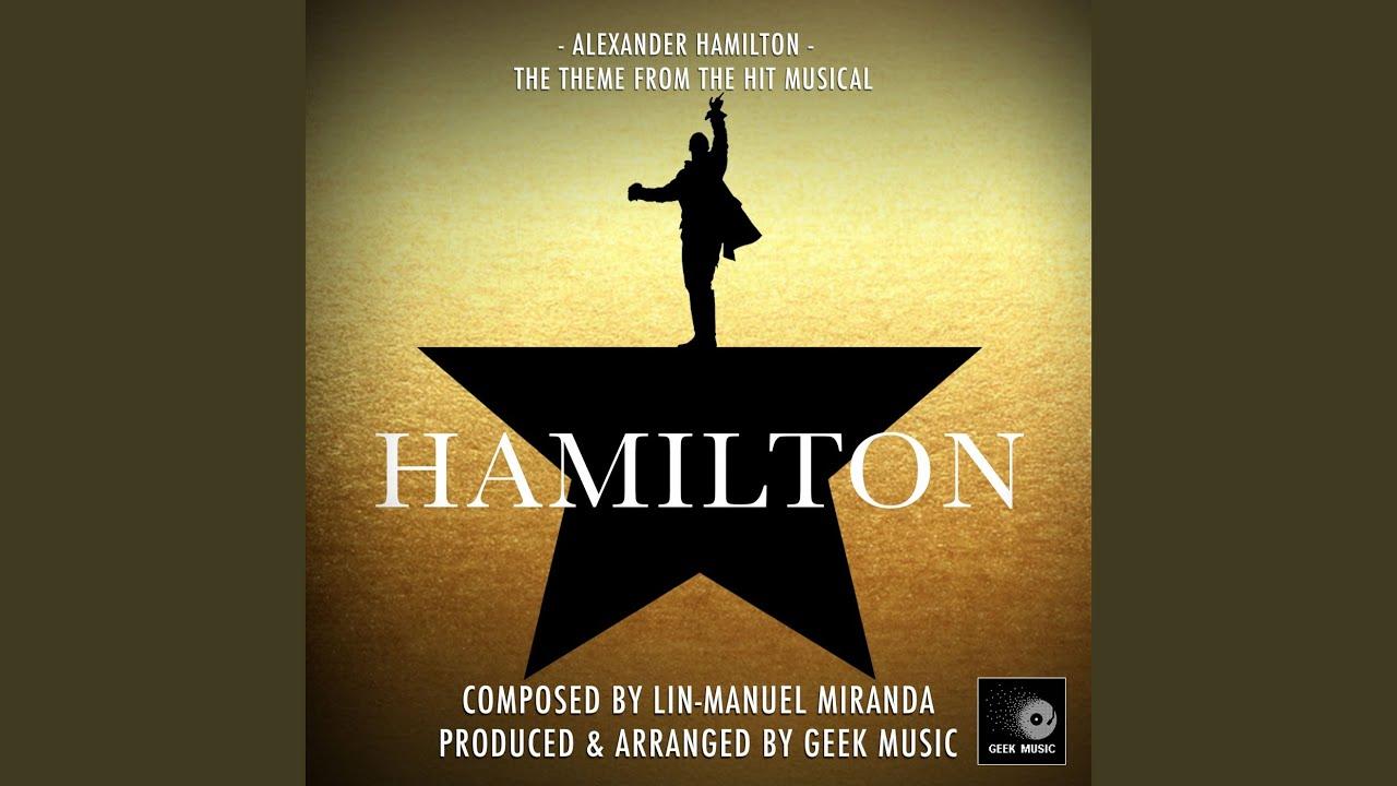 Alexander Hamilton From Hamilton Youtube