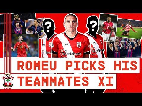 MESSI? HENRY? DE BRUYNE? | Oriol Romeu picks an UNBELIEVABLE Teammates XI!