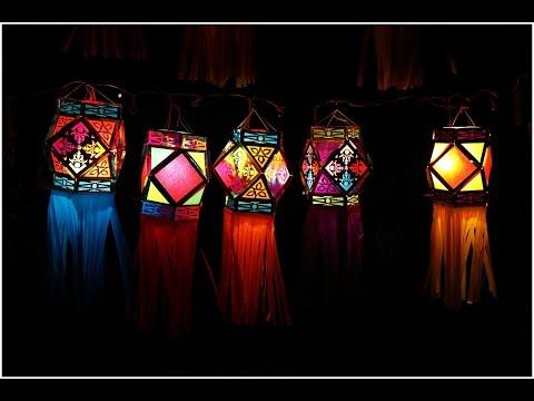 DIY~Hanging Lamp~Paper Lantern~Simple Steps