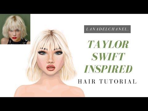Taylor Swift Inspired Hair Tutorial | Stardoll Wigs | LanaDelChanel.