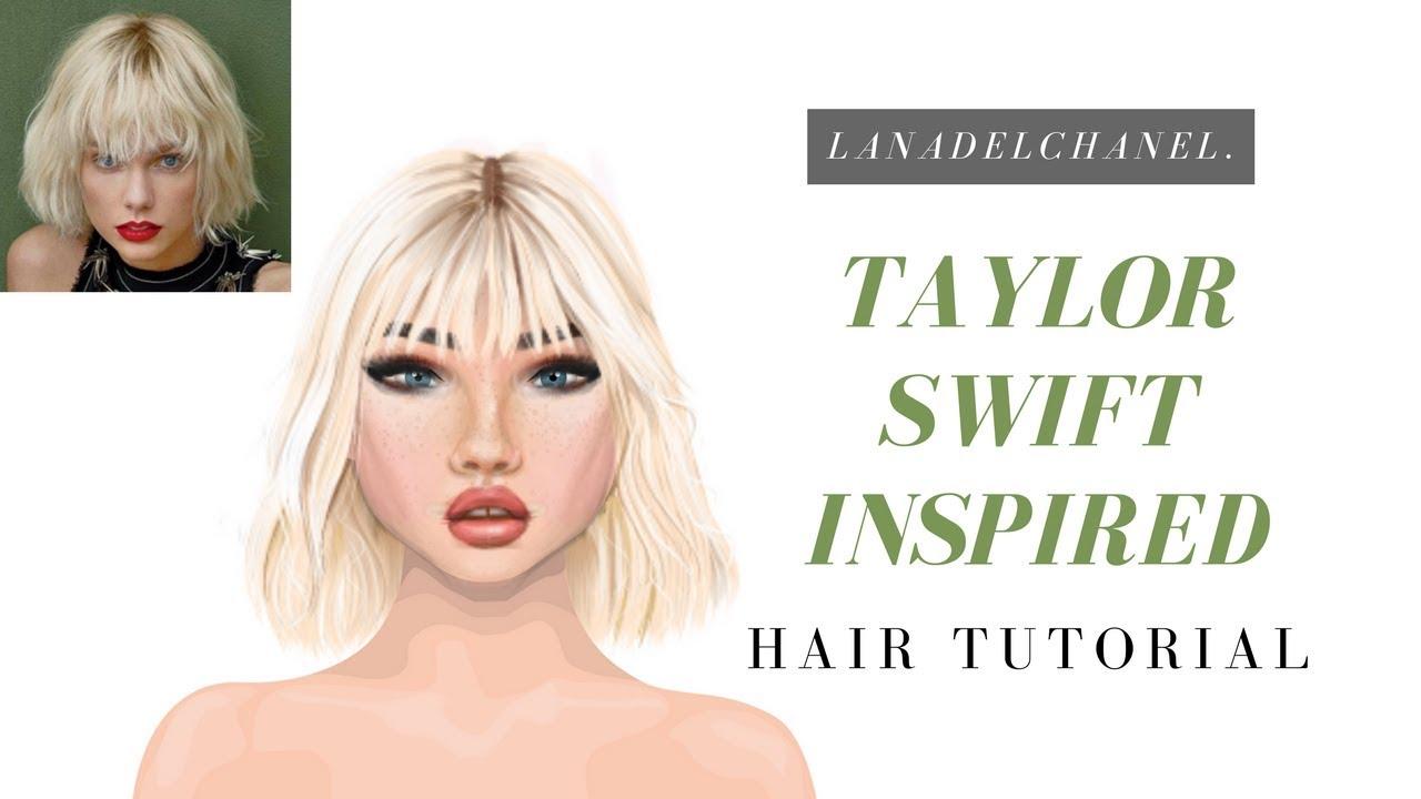 Taylor swift inspired hair tutorial | jazzymonee.