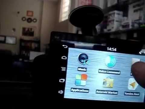 Alfa Romeo Giulietta Parrot ASTEROID Tablet www.unluotomotiv.com.tr