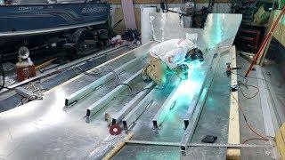 Building a 25ft Aluminum Boat Part 6