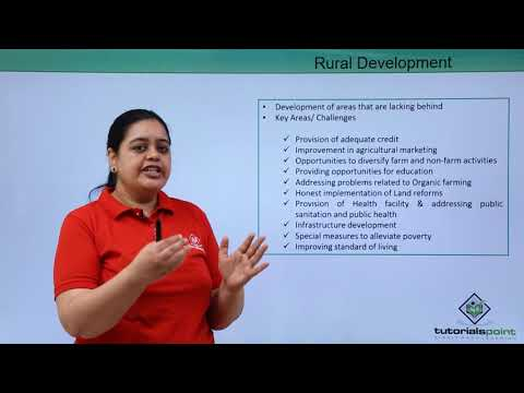 Rural Development In India - Introduction