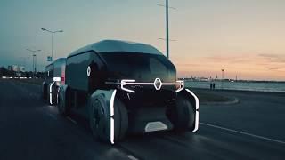 Renault EZ-PRO - робоавтомобиль для доставки грузов