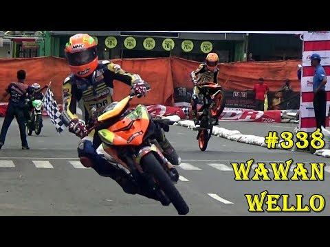 Road Race Purbalingga 2018 ; AKSI GILA WAWAN WELO GONDOL JUARA KLS BEBEK 4T TU 150 CC OPEN