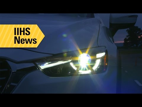 Headlights For Most Small SUVs Are Poor - IIHS News