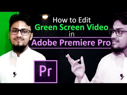 How to Edit Green Screen Video in Adobe Premiere Pro | Bangla Tutorial thumbnail