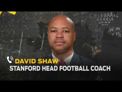 David Shaw talks Kansas State, Richard Sherman, Kaepernick with Colin | THE HERD (FULL INTERVIEW)