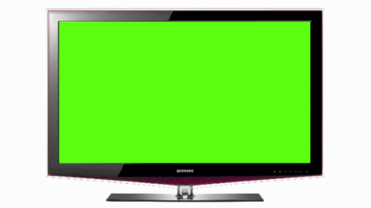 Green Screen Flat Television Hd 1080p - Greenscreen4u
