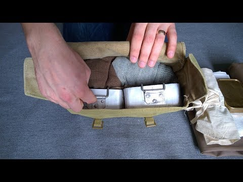 British WW2 Haversack Contents And How To Pack Them - Reenacting Tips