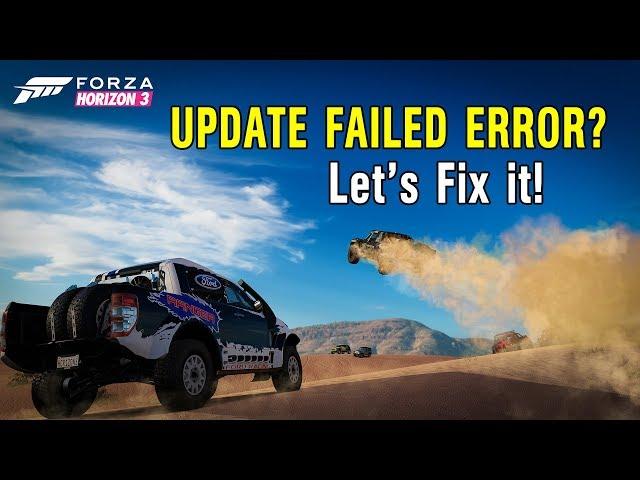How to fix forza horizon 3 error (deployment failed) | GamerHow