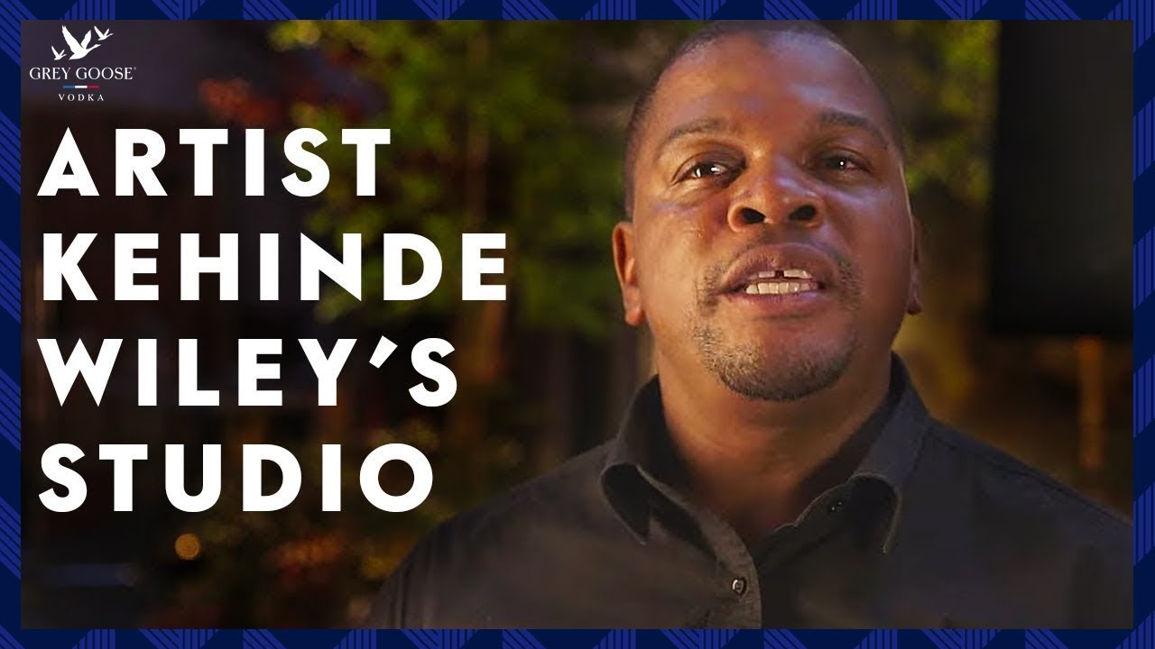 Behind the Scenes | Kehinde Wiley's Studio