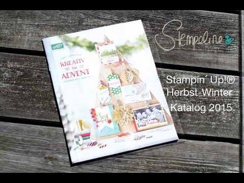 stampin up herbst winter katalog 2015 youtube. Black Bedroom Furniture Sets. Home Design Ideas