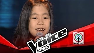 "The Voice Kids Philippines Blind Audition ""Titanium"" by Karla Cruz"