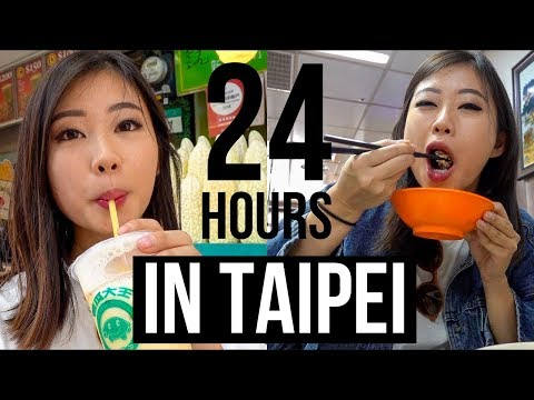 24 HOURS IN TAIPEI | Taiwan Food & Shopping Vlog ~ Emi