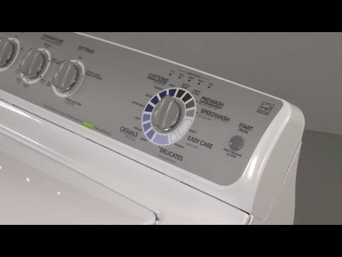 Start Button - GE Washer