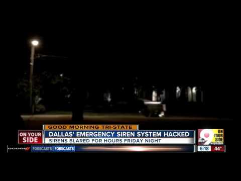 Dallas' emergency siren system hacked