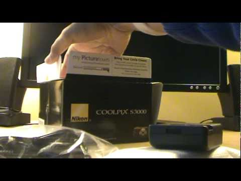 Coolpix S3000 Camera Unboxing And Review