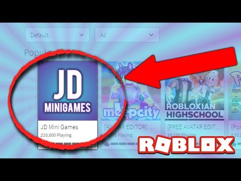 Our Very Own ROBLOX GAME!