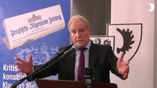 Rudi Pawelka zu Geschichtsfälschungen und Manipulationen in Medien und Politik