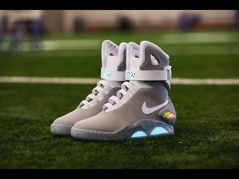 5231187bc Nike Mag !!! Self Lacing Shoes 2016  10 Nike Mag Raffle - YouTube